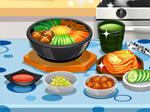 درس الطبخ الكوري
